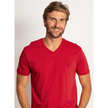 camiseta-aleatory-masculina-lisa-gola-v-vermelho-modelo-2019-1-