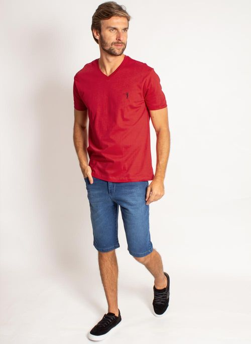 camiseta-aleatory-masculina-lisa-gola-v-vermelho-modelo-2019-3-
