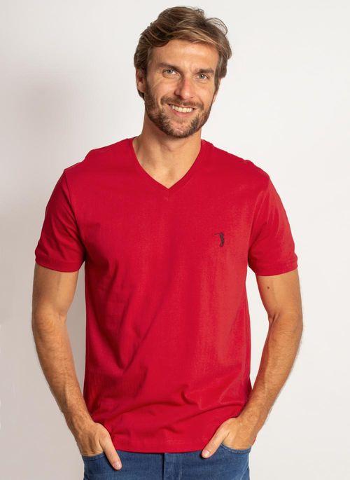 camiseta-aleatory-masculina-lisa-gola-v-vermelho-modelo-2019-4-