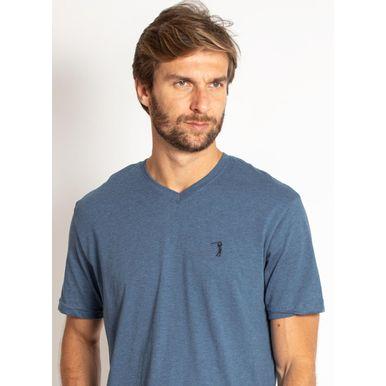 camiseta-aleatory-masculina-lisa-gola-v-mescla-azul-modelo-2019-1-