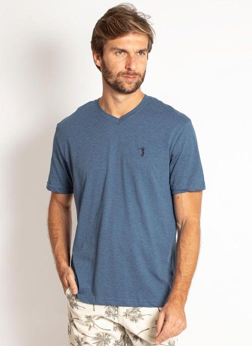 camiseta-aleatory-masculina-lisa-gola-v-mescla-azul-modelo-2019-4-