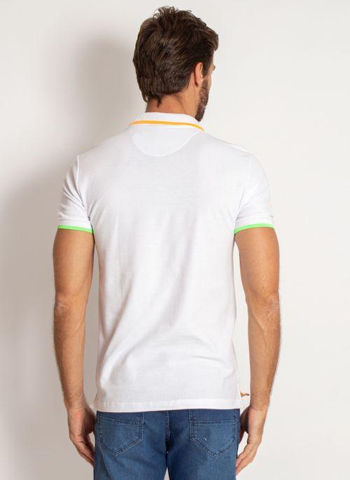 camisa-polo-aleatory-masculina-piquet-neon-branco-modelo-2-