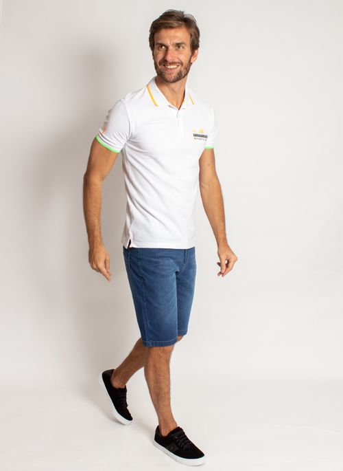 camisa-polo-aleatory-masculina-piquet-neon-branco-modelo-3-