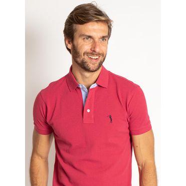 camisa-polo-aleatory-masculina-lisa-vermelha-cereja-modelo-1-