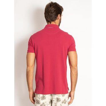 camisa-polo-aleatory-masculina-lisa-vermelha-cereja-modelo-2-