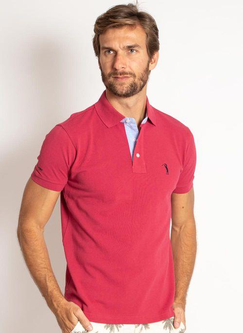 camisa-polo-aleatory-masculina-lisa-vermelha-cereja-modelo-4-