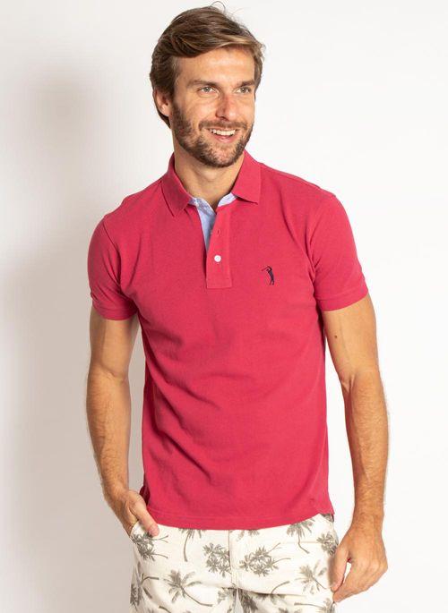 camisa-polo-aleatory-masculina-lisa-vermelha-cereja-modelo-5-