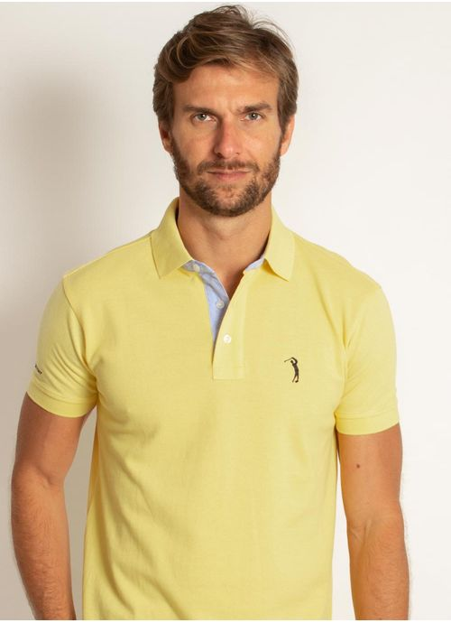 camisa-polo-aleatory-masculina-lisa-amarelo-amarelo-modelo-1-