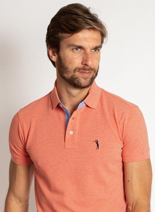 camisa-polo-aleatory-masculina-lisa-mescla-coral-laranja-2019-modelo-1-