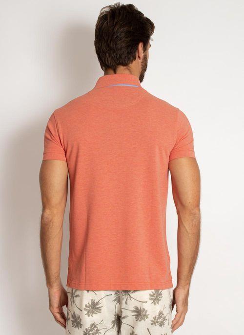 camisa-polo-aleatory-masculina-lisa-mescla-coral-laranja-2019-modelo-2-