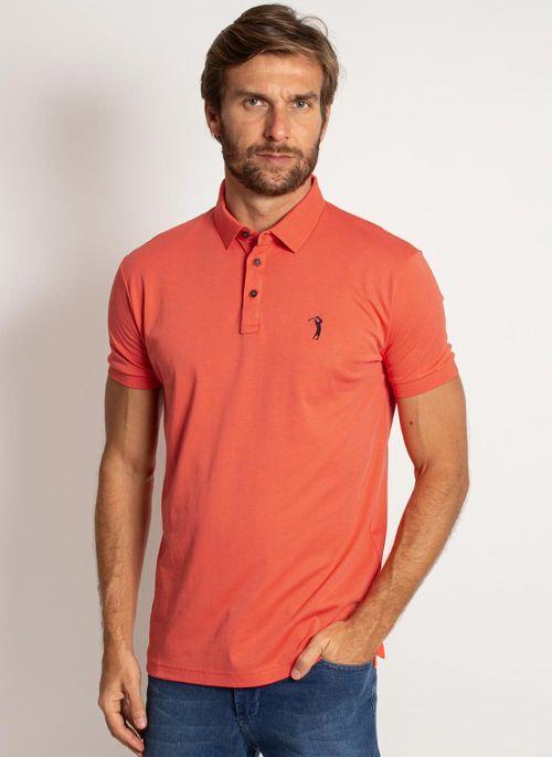 camisa-polo-aleatory-masculina-lisa-algodao-pima-laranja-modelo-4-