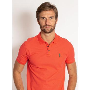 camisa-polo-aleatory-masculina-lisa-piquet-pima-laranja-modelo-1-