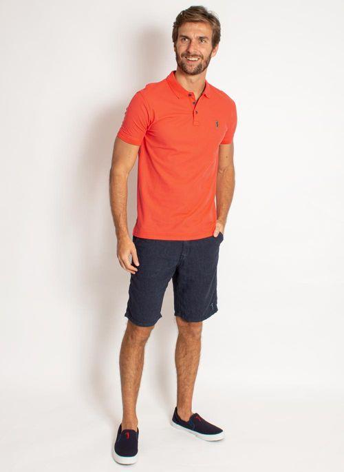 camisa-polo-aleatory-masculina-lisa-piquet-pima-laranja-modelo-3-