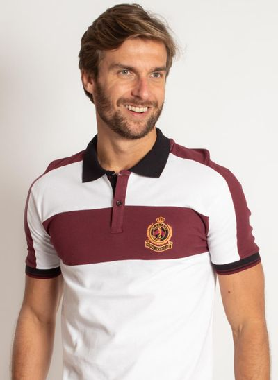 camisa-polo-aleatory-masculina-piquet-brasao-recorte-peito-modelo-1-