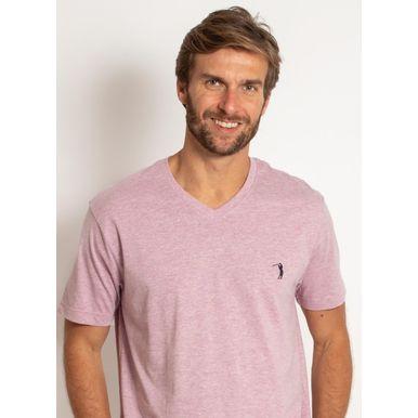 camiseta-aleatory-masculina-gola-v-basica-lilas-mescla-modelo-1-
