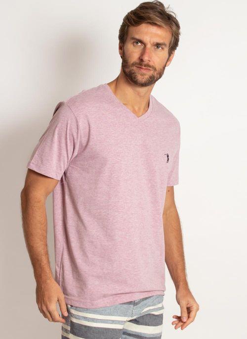camiseta-aleatory-masculina-gola-v-basica-lilas-mescla-modelo-5-