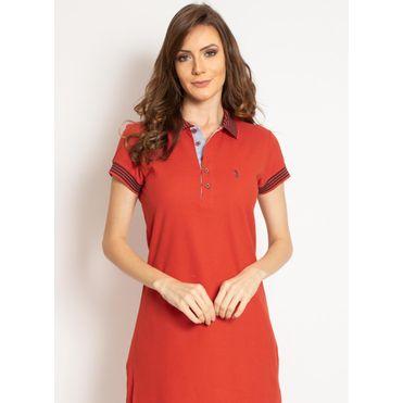 vestido-aleatory-gola-polo-liso-laranja-modelo-2019-1-