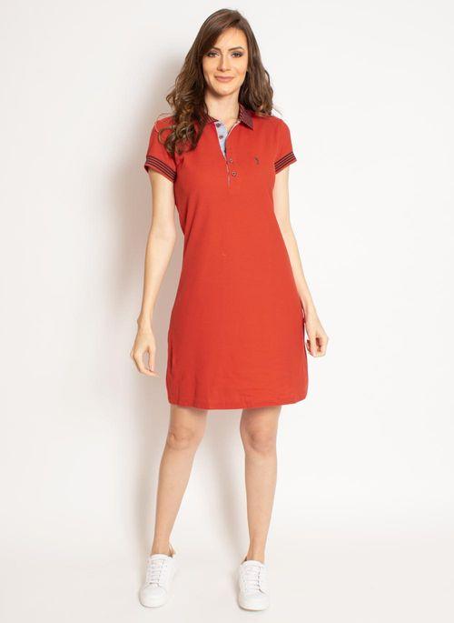 vestido-aleatory-gola-polo-liso-laranja-modelo-2019-3-
