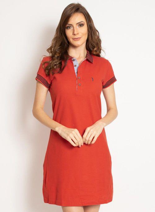 vestido-aleatory-gola-polo-liso-laranja-modelo-2019-4-