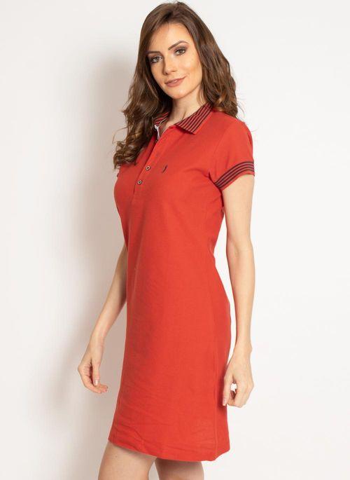 vestido-aleatory-gola-polo-liso-laranja-modelo-2019-5-