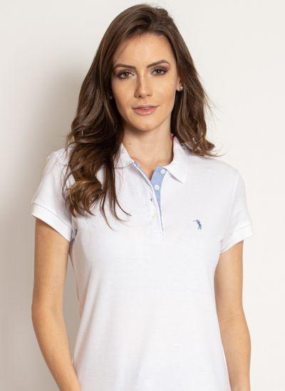 camisa-polo-aleatory-feminino-piquet-lycra-branca-modelo-2019-1-