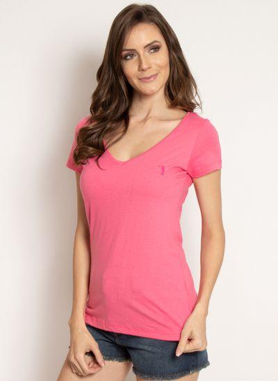 camiseta-aleatory-feminina-gola-v-basica-rosa-modelo-2019-4-