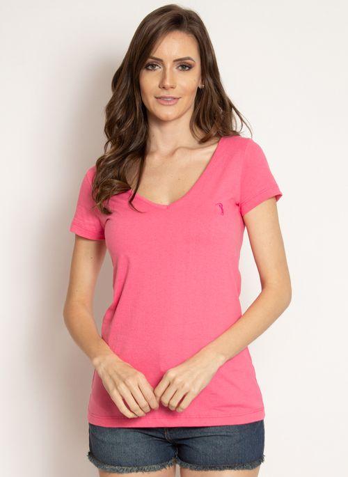 camiseta-aleatory-feminina-gola-v-basica-rosa-modelo-2019-5-