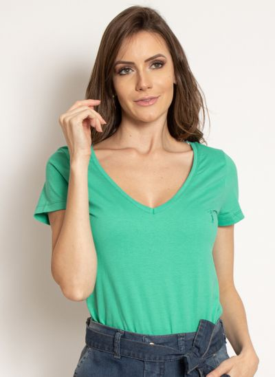 camiseta-aleatory-feminina-gola-v-basica-verde-modelo-2019-6-