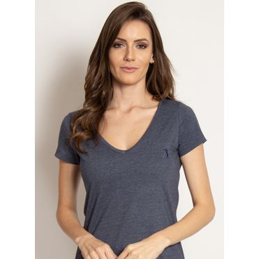camiseta-aleatory-feminina-gola-v-basica-azul-marinho-mescla-modelo-2019-1-