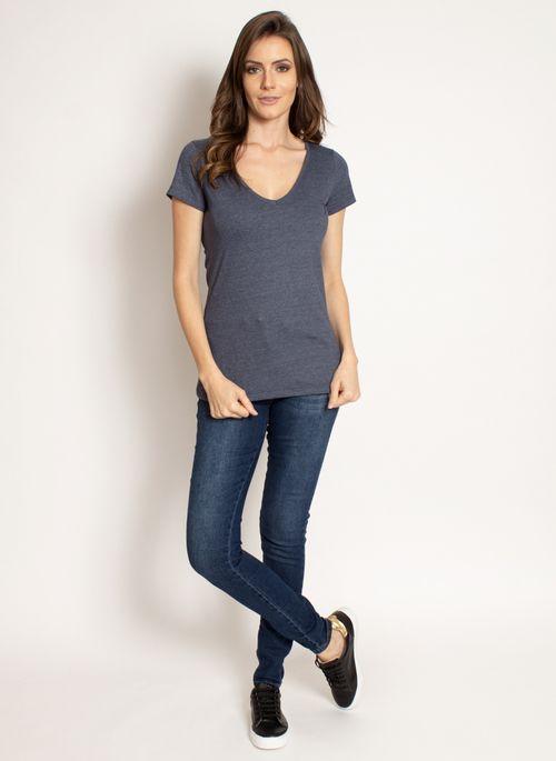 camiseta-aleatory-feminina-gola-v-basica-azul-marinho-mescla-modelo-2019-3-