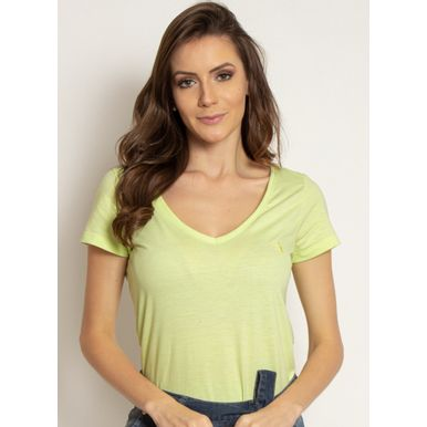 camiseta-aleatory-feminina-gola-v-basica-verde-limao-modelo-2019-1-
