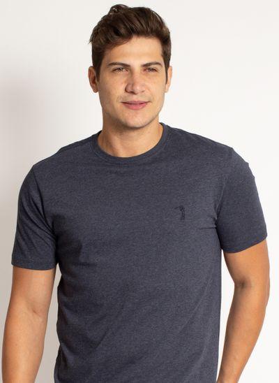 camiseta-aleatory-masculina-lisa-azul-mescla-modelo-2019-1-