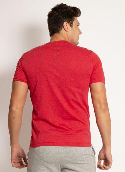 camiseta-aleatory-masculina-lisa-vermelho-mescla-modelo-2019-2-