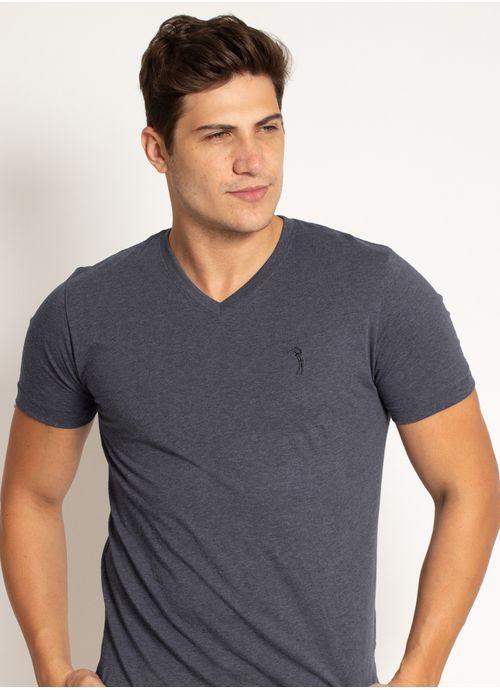 camiseta-aleatory-masculina-lisa-gola-v-masica-azul-marinho-mescla-modelo-2019-1-