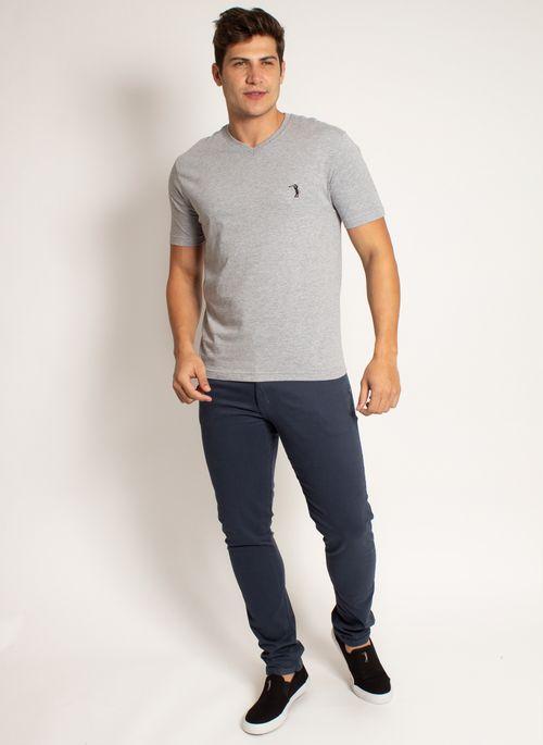 camiseta-aleatory-masculina-lisa-gola-v-masica-mescla-cinza-mescla-modelo-2019-3-
