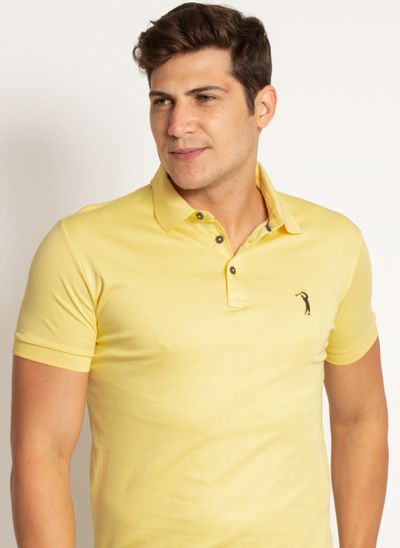 camisa-polo-aleatory-masculina-lisa-algodao-pima-amarelo-modelo-2019-1-