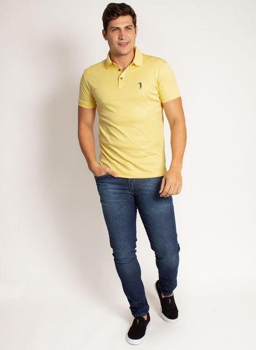 camisa-polo-aleatory-masculina-lisa-algodao-pima-amarelo-modelo-2019-3-