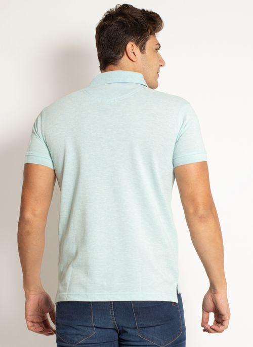camisa-polo-aleatory-masculina-lisa-mescla-verde-modelo-2019-2-