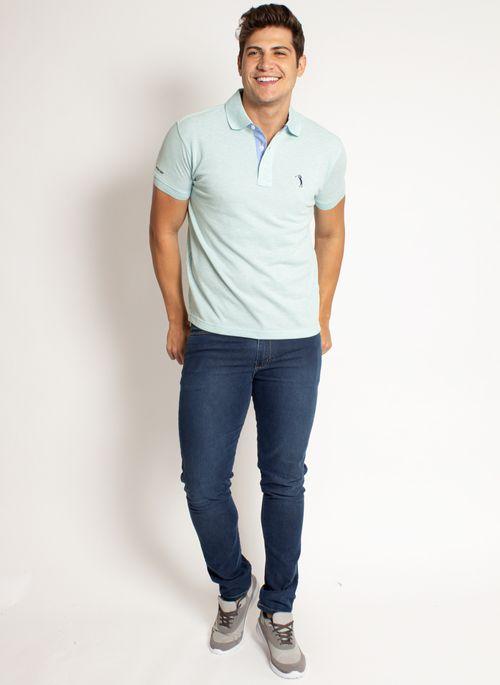 camisa-polo-aleatory-masculina-lisa-mescla-verde-modelo-2019-3-