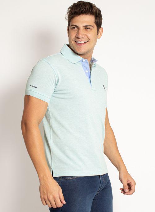 camisa-polo-aleatory-masculina-lisa-mescla-verde-modelo-2019-4-