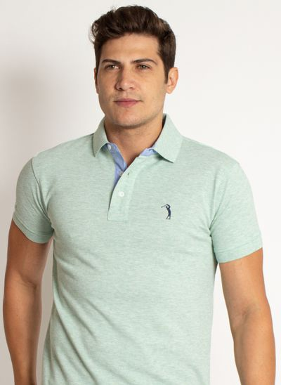camisa-polo-aleatory-masculina-lisa-mescla-verde-modelo-2019-6-