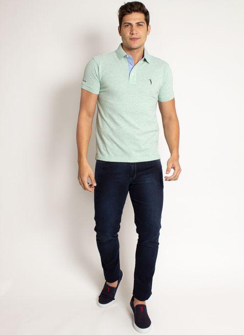 camisa-polo-aleatory-masculina-lisa-mescla-verde-modelo-2019-8-