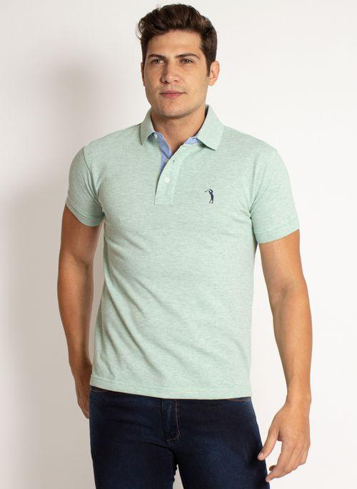 camisa-polo-aleatory-masculina-lisa-mescla-verde-modelo-2019-9-