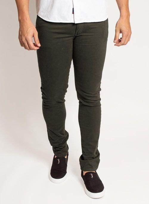 calca-sarja-aleatory-masculina-five-pockets-verde-modelo-1-