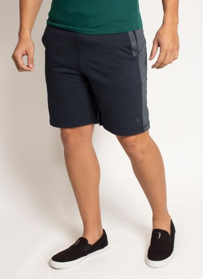 bermuda-aleatory-masculina-moletom-save-azul-marinho-modelo-2-
