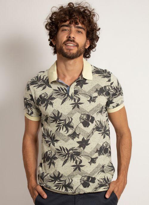 camisa-polo-aleatory-masculina-estampada-leaved-modelo-10-