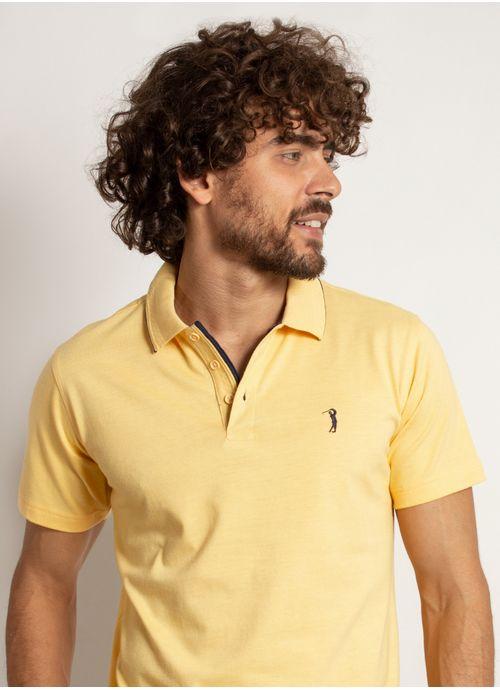 camisa-polo-aleatory-masculina-lisa-king-mescla-amarela-modelo--1-