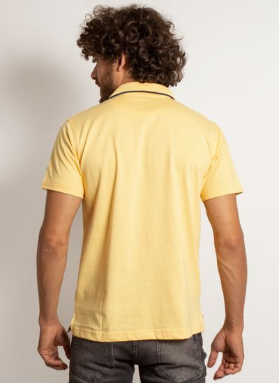 camisa-polo-aleatory-masculina-lisa-king-mescla-amarela-modelo--2-