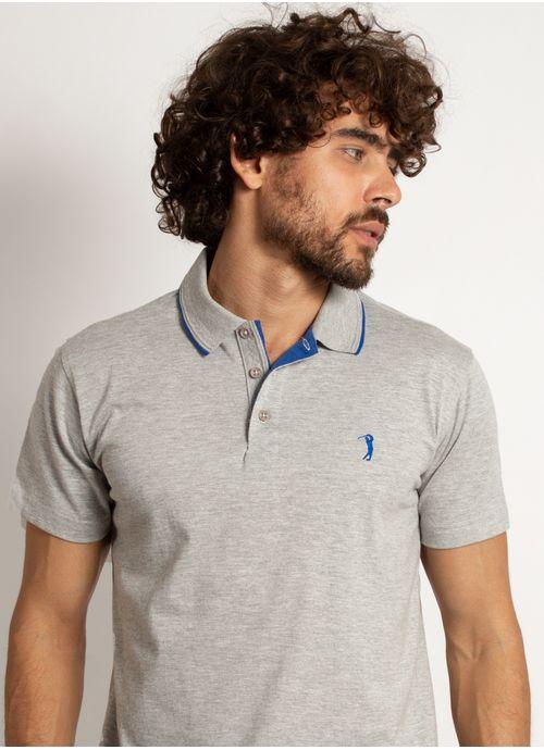 camisa-polo-aleatory-masculina-lisa-king-mescla-cinza-modelo-1-