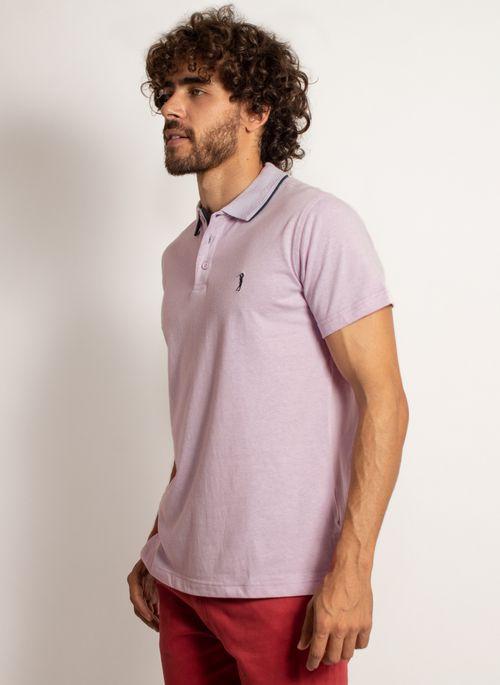 camisa-polo-aleatory-masculina-lisa-king-mescla-lilas-modelo-4-
